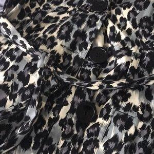 Forever 21 Jackets & Coats - Dress leopard print jacket